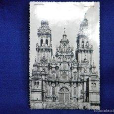 Postales: POSTAL FOTO LA CATEDRAL DE SANTIAGO . Lote 56509529