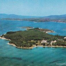 Postales: LA TOJA Nº 478 ISLA DE ENSUEÑO VISTA AEREA SIN CIRCULAR EDICIONES ALARDE . Lote 56533762