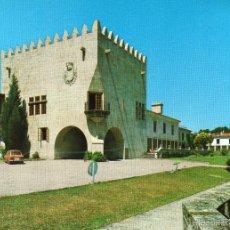 Postales: BAYONA LA REAL (PONTEVEDRA) PARADOR NACIONAL CONDE DE GONDOMAR. Lote 56656102