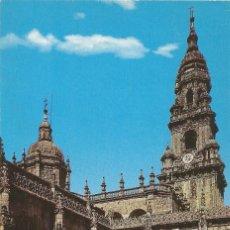 Postales: ** PV981 - POSTAL - SANTIAGO DE COMPOSTELA - CATEDRAL - CLAUSTRO Y TORRE DEL RELOJ. Lote 56807428