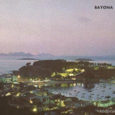Postales: ** PV988 - POSTAL - BAYONA LA REAL - PONTEVEDRA - VISTA NOCTURNA. Lote 56807433