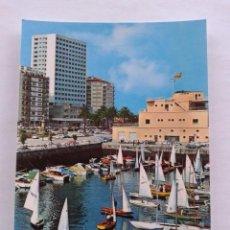 Postales: POSTAL -- VIGO - DARSENA DEL REAL CLUB NAUTICO -- PONTEVEDRA - GALICIA -- USADA --. Lote 56850134