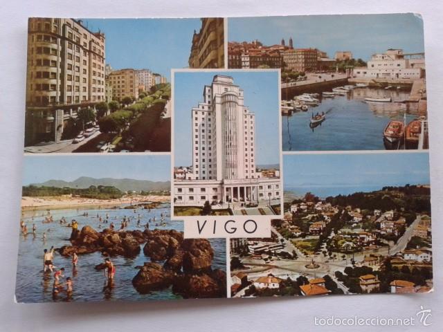 POSTAL -- VIGO-- PONTEVEDRA - GALICIA -- USADA -- (Postales - España - Galicia Moderna (desde 1940))