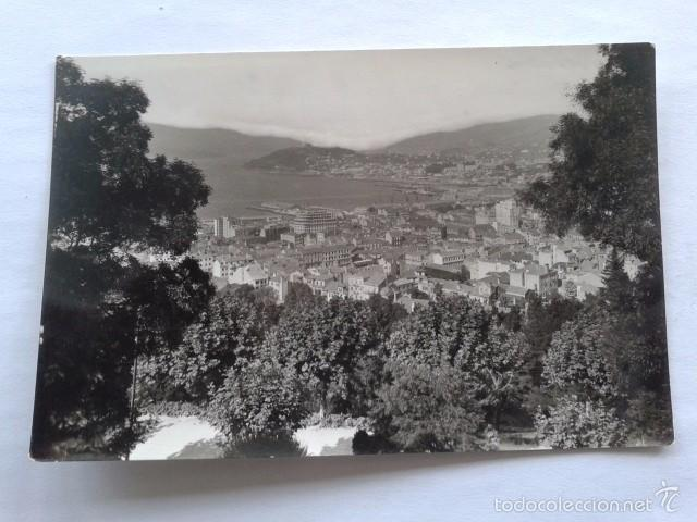 POSTAL -- VIGO - VISTA PARCIAL - PONTEVEDRA - GALICIA -- USADA -- (Postales - España - Galicia Moderna (desde 1940))