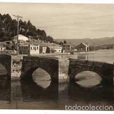 Postales: PONTEVEDRA VIGO LA RAMALLOSA PUENTE ROMANO. EDIC. DELFLOR 19. SIN CIRCULAR. Lote 57100977