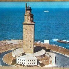 Postales: LA CORUÑA -TORRE DE HERCULES. Lote 57148581