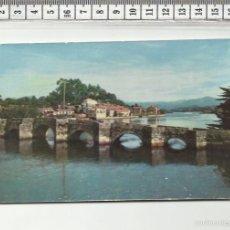 Postales: 14.387 TARJETA POSTAL, PUENTE ROMANO, RAMALLOSA, PONTEVEDRA. Lote 57450809