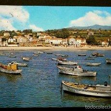 Postales: PANJON (PONTEVEDRA) Nº 7 PLAYA Y VISTA PARCIAL - ED. GARCIA GARRABELLA -POSTAL CIRCULADA-GALICIA. Lote 57684430