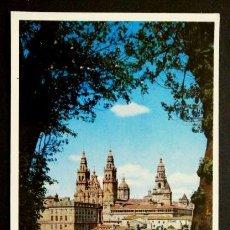 Postales: SANTIAGO - Nº 4 VISTA DE LA CATEDRAL DESDE EL PARQUE - ED. DOMINGUEZ - NO CIRCULADA - CORUÑA. Lote 57684487