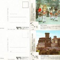 Postales: 2 POSTALES DE VERIN ANTIGUAS - PLANOS. Lote 58438399