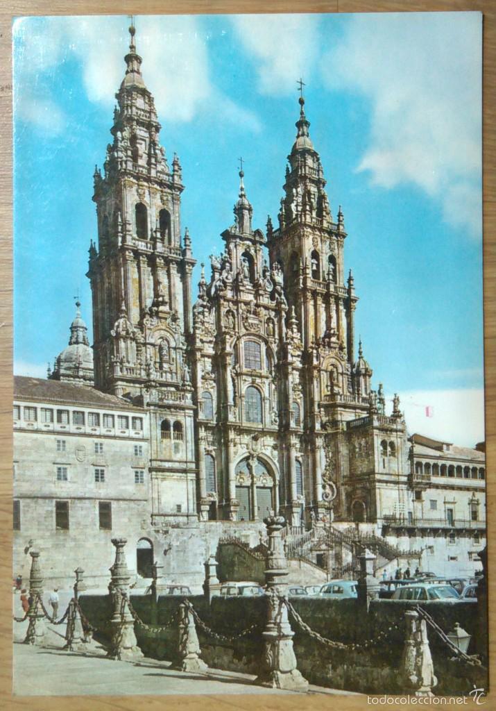 SANTIAGO DE COMPOSTELA - CATEDRAL (Postales - España - Galicia Moderna (desde 1940))