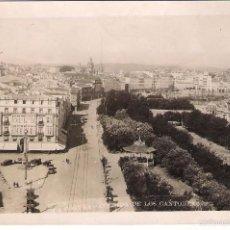 Postales: POSTAL DE LA CORUÑA: AVENIDA DE LOS CANTONES. Lote 58119901