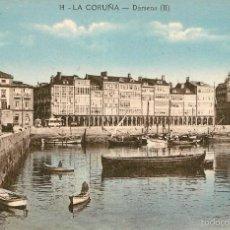 Postales: LA CORUÑA - DARSENA - ZINCKE Nº14 . Lote 58182836