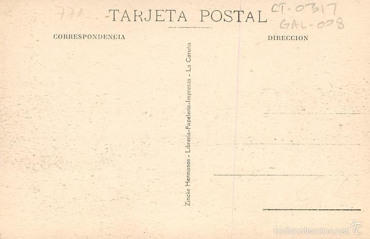 Postales: La Coruña - Darsena - Zincke Nº14 - Foto 2 - 58182836