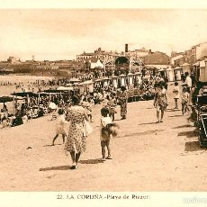 Postales: LA CORUÑA - PLAYA DE RIAZOR - ROISIN Nº22. Lote 58182846