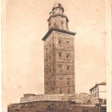 Postales: POSTAL A CORUÑA FARO Y TORRE DE HERCULES 1948 25/178. Lote 58301634