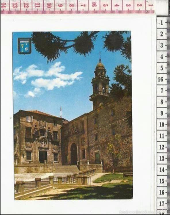 20.530 TARJETA POSTAL, IGLESIA SANTO DOMINGO, SANTIAGO DE COMPOSTELA, LA CORUÑA (Postales - España - Galicia Moderna (desde 1940))