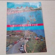 Postales: FOZ PLAYA DE PAPADOIRA Y CAMPING. Lote 58424908