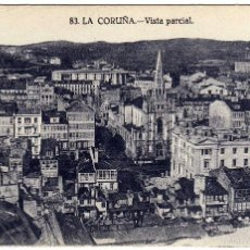 Postais: BONITA POSTAL - LA CORUÑA - VISTA PARCIAL. Lote 58632455