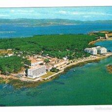 Cartoline: POSTAL ANTIGUA PONTEVEDRA SIN CIRCULAR ISLA DE LA TOJA VISTA AEREA. Lote 58678262