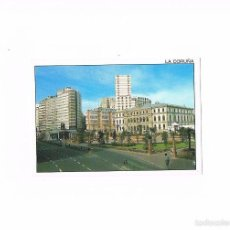 Postales: POSTAL ANTIGUA LA CORUÑA SIN CIRCULAR PLAZA DE PONTEVEDRA. Lote 58723131