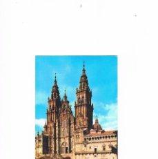 Postales: POSTAL ANTIGUA LA CORUÑA SIN CIRCULAR SANTIAGO COMPOSTELA CATEDRAL FACHADA DEL OBRADOIRO. Lote 58723618