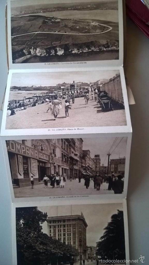 Postales: BLOC DE POSTALES LA CORUÑA - ROISIN AÑOS 40 - CON CENSURAS - 34 VISTAS - Foto 2 - 59312335