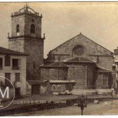 Postales: RARA POSTAL - CORUÑA - IGLESIA DE SANTIAGO - FOTO: FERRER * CORUÑA. Lote 59621003