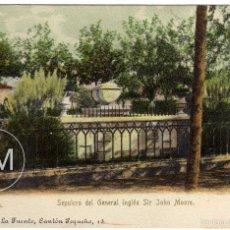 Postales: PRECIOSA POSTAL - LA CORUÑA - SEPULCRO DEL GENERAL INGLES SIR JOHN MOORE . Lote 59621583