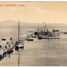 Postales: PRECIOSA POSTAL - PUEBLA DEL CARAMIÑAL (LA CORUÑA) - MUELLE. Lote 148360968