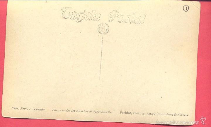 Postales: Postal antigua Betanzos coleccion ferrer(ver fotos) - Foto 2 - 60758263