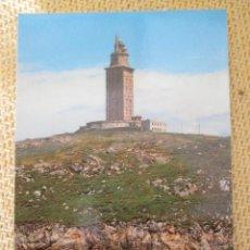 Postales: LA TORRE DE HERCULES 1988. Lote 61004303