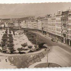Postales: LA CORUÑA. 81. PASEO DE LA MARINA.. ED. LUJO. ESCRITA 1956.. VELL I BELL.. Lote 61024139