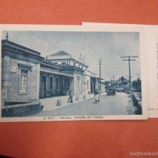 Postales: POSTAL TUY ' ADUANA AVENIDA DEL PUENTE ' EDI ROISIN Nº 9, NO CIRCULADA, HACIA 1950 + INFO.. Lote 161769697