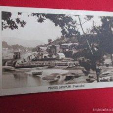 Postales: POSTAL PUENTE SAMPAYO EDI FOURNIER SIN Nº, NO CIRCULADA, HACIA 1950. Lote 61149259