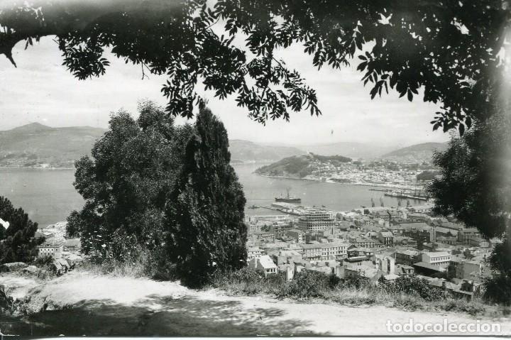 VIGO- VISTA DESDE EL MONTE EL CASTRO- (Postales - España - Galicia Moderna (desde 1940))