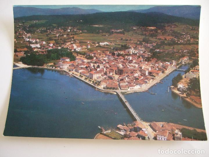 POSTAL CORUÑA - NOYA - VISTA AEREA - 1966 - ALARDE 634 - SIN CIRCULAR (Postales - España - Galicia Moderna (desde 1940))