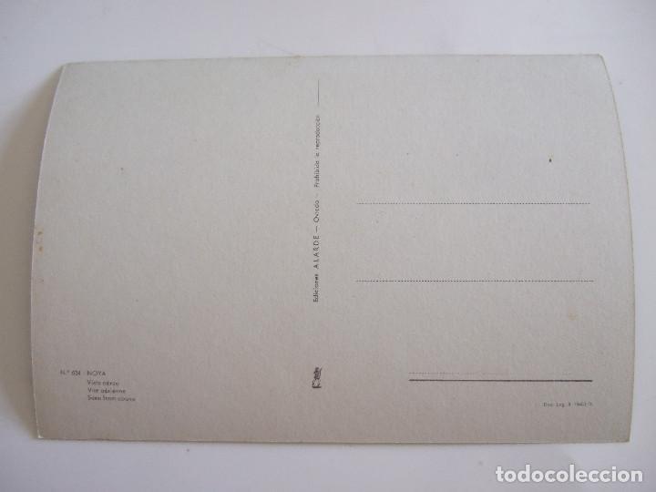 Postales: POSTAL CORUÑA - NOYA - VISTA AEREA - 1966 - ALARDE 634 - SIN CIRCULAR - Foto 2 - 61634636