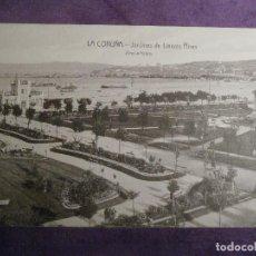 Postales: POSTAL - ESPAÑA - LA CORUÑA - JARDINES DE LINARES RIVAS - ZINCKE HNOS.. Lote 62226048