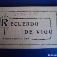 Postales: (PS-49730)BLOK DE 10 POSTALES RECUERDO DE VIGO,4ªSERIE. Lote 62366916
