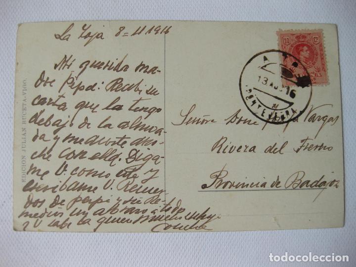 Postales: TARJETA POSTAL DEL MUELLE DE PIEDRA DEL PUERTO DE VIGO - Foto 2 - 63717663