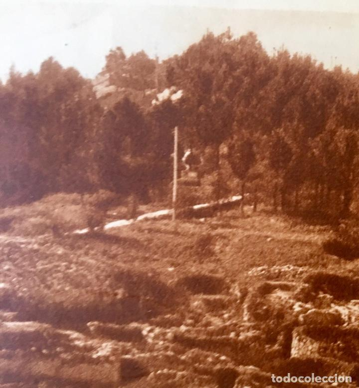 Postales: albumina La guardia Pontevedra monte de santa tecla . Vista del Facho desde la citania - Foto 2 - 227049565