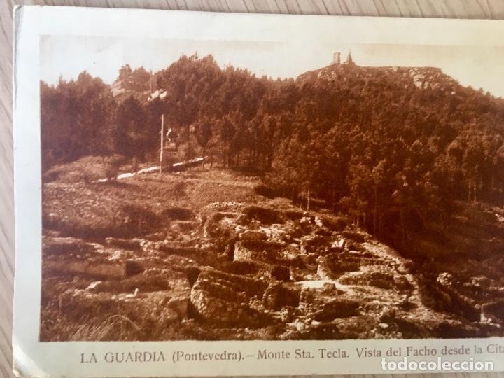 Postales: albumina La guardia Pontevedra monte de santa tecla . Vista del Facho desde la citania - Foto 4 - 227049565