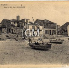Postales: PRECIOSA POSTAL - MUGIA (LA CORUÑA) - PLAYA DE LAS LANCHAS. Lote 64521183