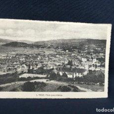 Postales: VIGO 1 VISTA PANORAMICA FOTOGRAFÍA L ROISIN PAPELERIA ESPAÑOLA VIGO. Lote 227047945