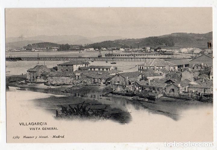 VILLAGARCÍA. VISTA GENERAL. (Postales - España - Galicia Antigua (hasta 1939))