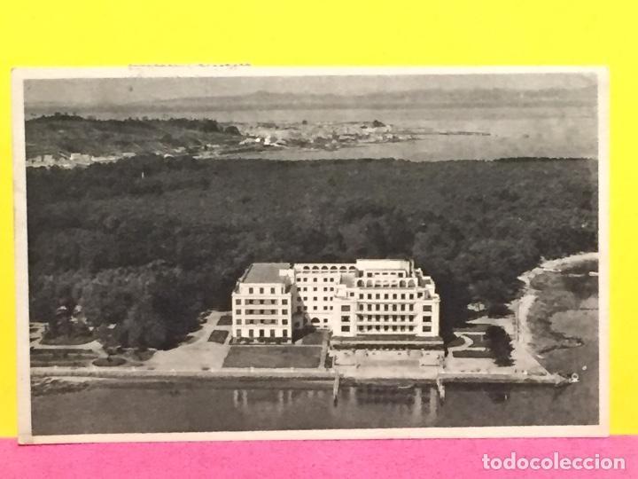 POSTAL LA TOJA GRAN HOTEL DESDE LA RÍA ED. OLIVA BARCELONA (Postales - España - Galicia Moderna (desde 1940))