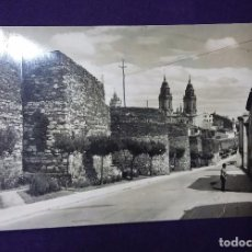 Postales: POSTAL DE LUGO. N°13 MURALLAS ROMANAS. AÑOS 50.. Lote 66013938