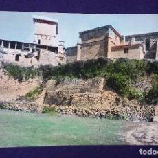 Postales: POSTAL DE VERIN (ORENSE). N°10 CASTILLO MONTERREY. COLOREADA. AÑOS 50.. Lote 66014630