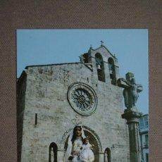 Postales: POSTAL Nº 5082 BETANZOS - LA CORUÑA - FACHADA DE LA IGLESIA DE SANTA MARIA. Lote 66471906